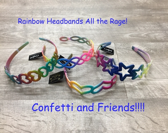 rainbow headbands