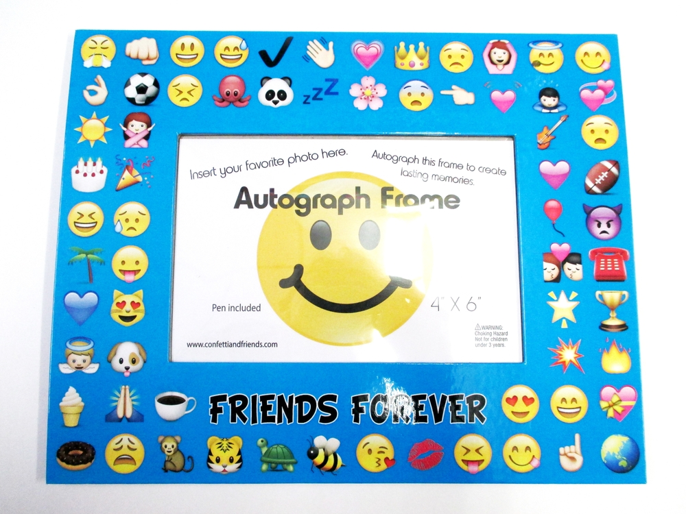 Multi Emoji Frame | Bunk Junk ® Autograph Frames