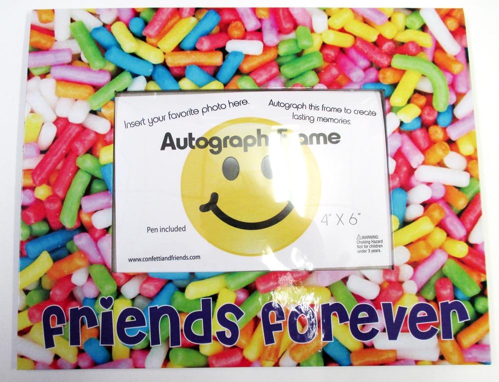 Sprinkle Friends Forever Frame | Bunk Junk ® Autograph Frames