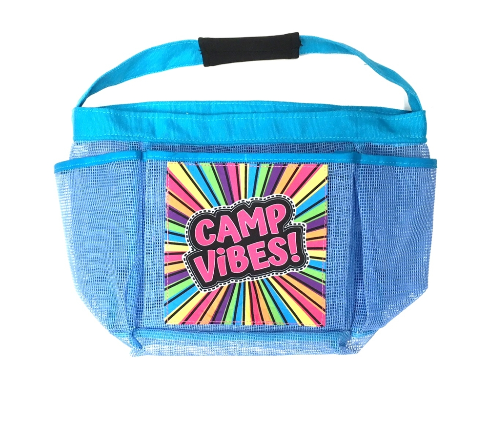 Camp Vibes Shower Caddy | Bunk Junk ® Shower Caddies