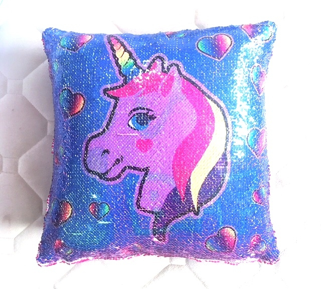 Sequin Unicorn Bff Pillow Unicorns Mermaids Amp Sequins