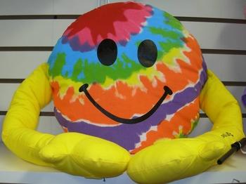 Image BJ130 Tie Dye Smile Hug Autograph Pillow