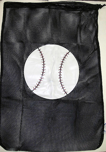 Image Baseball Mesh Laundry Bag