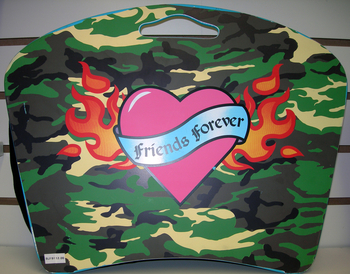 Image Friends Forever Camo Lap Desk