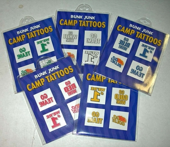 Image Color War 4 pc tattoo set