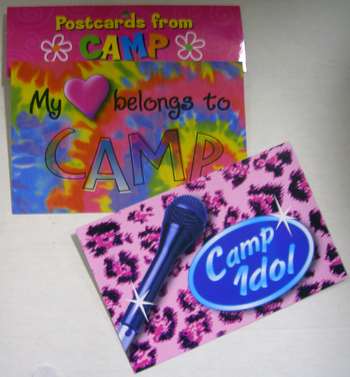 Image My Heart Belongs/Camp Idol Post Card Set