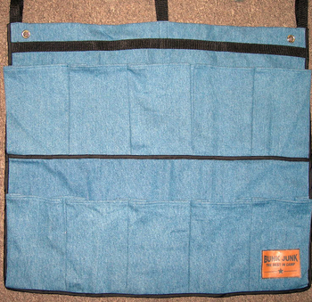 Image Denim Bunk Junk Ten Pocket Shoe Bag