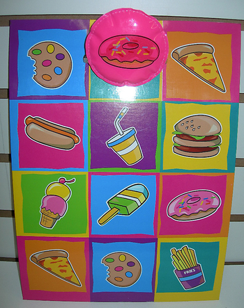 Image Junk Food Clipboard