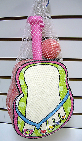 Image Flip Flop Paddle Set With Foam Ball