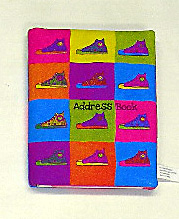 Image Sneaker Address Book