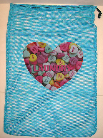 Image Sweethearts Mesh Laundry Bag