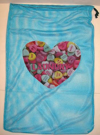 Image Sweethearts Mesh Laundry Bag
