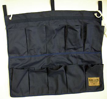 Image Navy Bunk Junk 10 Pocket Shoe Bag