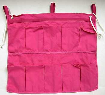 Image Hot Pink 10 Pocket Shoe Bag