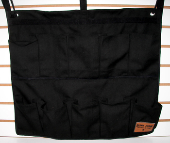 Image Black Bunk Junk 10 Pocket Shoe Bag