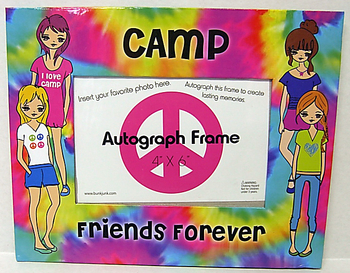Image The Dye Camp Friends Forever Autograph Frame