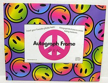 Image Rainbow Smile Autograph Frame