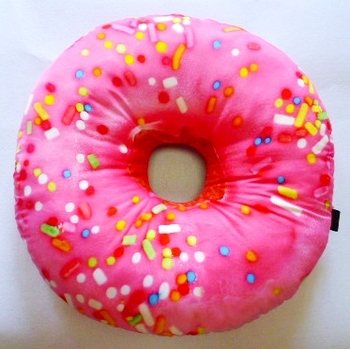 Image Pink Donut Autograph Pillow
