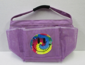 Image Purple Smile Shower Caddy