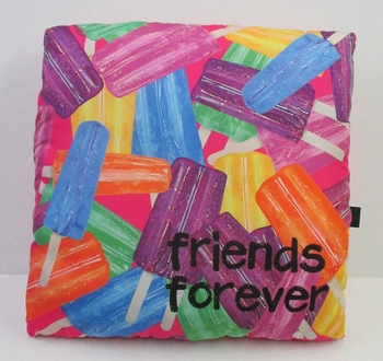 Image BJ610 Friends Forever Icepop Autograph Pillow