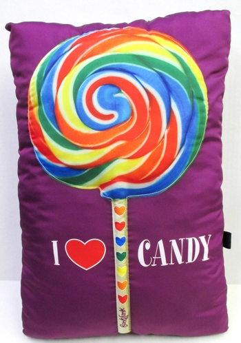 Image I love Candy Lollipop Autograph Pillow