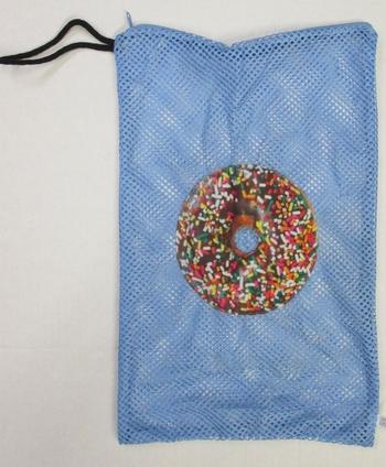 Image Donut Zippered Sock Bag