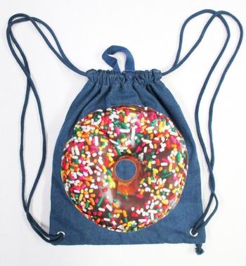 Image Denim Donut Sling bag
