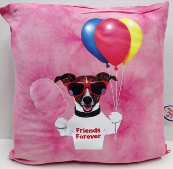 Image Doggy Friends Forever Autograph Pillow