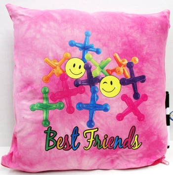 Image BJ662 Best Friends Jacks Autograph Pillow