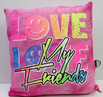Image Love My Friends Autograph Pillow