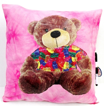 Image Teddy Autograph Pillow