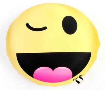Image BJ671 Emoticon Squishy Double Sided Autograph Pillow