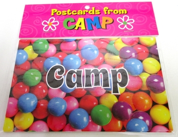 Image Gumball Camp Postcards