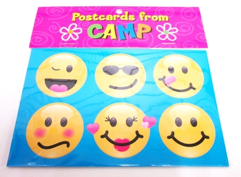 Image Emoji Camp Postcards