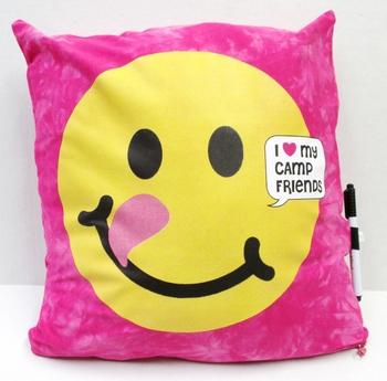 Image BJ700 Camp Friends Emoji Autograph Pillow