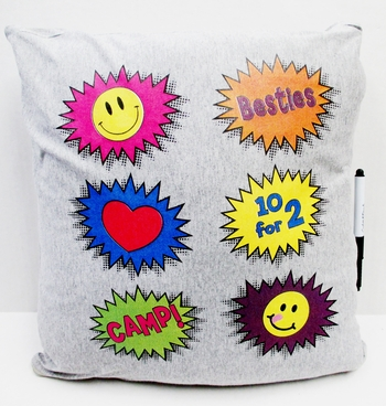 Image Pow Autograph Pillow