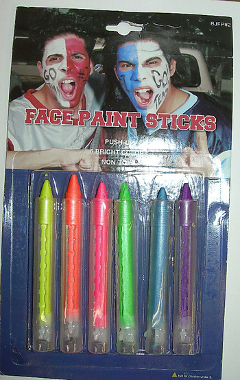 Image Neon Face Paint 6 Pack