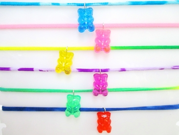 Image Gummy Bear Confettio Necklace