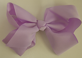 Image Large Grosgrain Bow on Clip