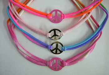 Image Camp Spirit Peace Confettio Necklace