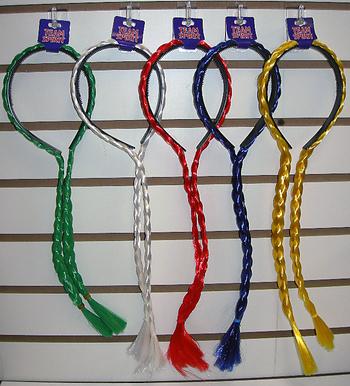 Image Color War Braided Headband