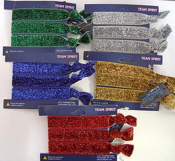 Image Color War Metallic Bracelet/Pony Set
