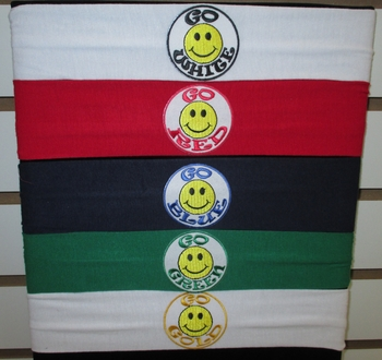 Image Go Smiley Jersey Head Wrap