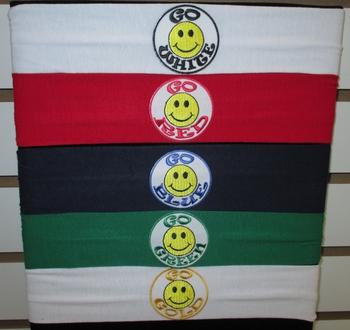 Image Go Smiley Jersey Head Wrap