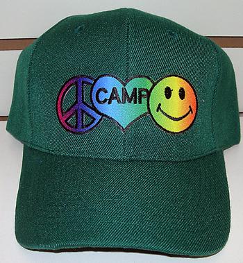 Image Peace Love Camp Hat
