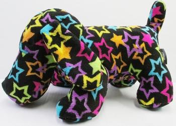 Image Fuzzie Black Stars Dog