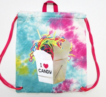 Image I love Candy Jersey Sling Bag