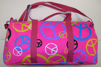 Image Peace Canvas Duffel