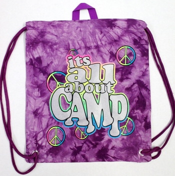 Image It's All About Camp  Sling Bag
