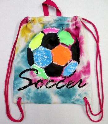 Image Rainbow Soccer Ball Jersey Sling Bag